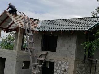 Executam lucrari de montarea acoperisurilor, fasade la cheie