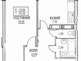 """Продам 1-комнатную квартиру """"Тирасполь"""""""