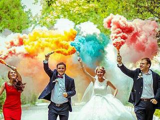 Fum colorat -calitate superioara - цветной дым - качественные дымовые шашки