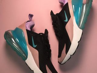 Nike Air Max 270 Black & Pink Women's