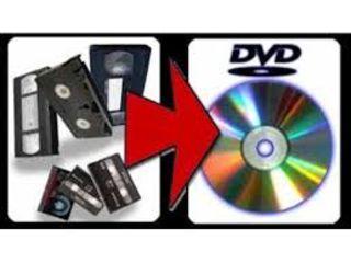 Digitalizarea ( transcrierea) casetelor Video.