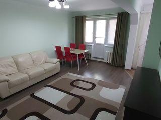 Chirie apartament cu 2 camere + living, reparație euro! Buiucani