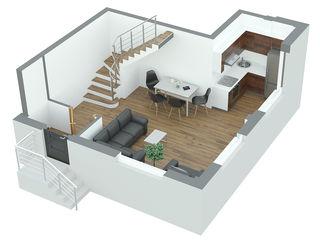 Apartament 2 camere 57.3m2 Durlesti la pret promotional 490euro/m2