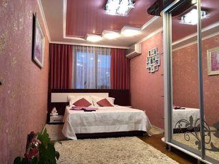 Buiucani! Ion Creanga. Apartament cu 3 camere,euroreparatie, full mobilat. Bloc de cotilet. 56 600 €
