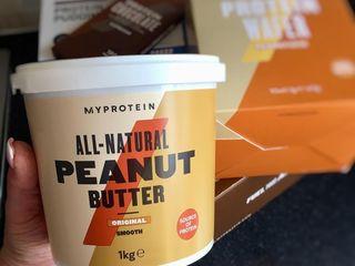 unt de arahide/арахисовая паста sport nutrition myprotein