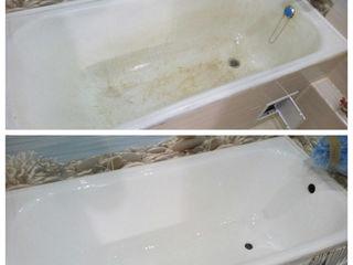 Реставрация ванн, от профессионалов, срок эксплуатации до 20 лет, Кишинев, Рышканы, Сынжерей