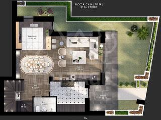 Vânzare Townhouse 187 mp + terasă și subsol