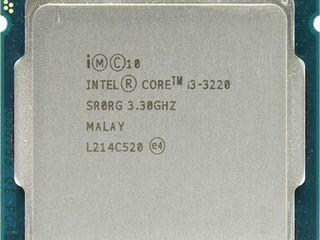 Процессор Intel Core i3 3220  -  249 лей   или меняю на 4 ядерный s775