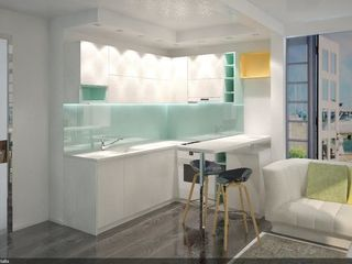 Buiucani/Apartament studiu/ Design interior profesional/ 18 600 euro/ prima rată 5 580euro