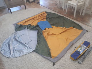 Трёхместная палатка treker - новая - 400 лей !!!