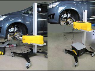 Стенды для проточки тормозных дисков на автомобилях MAD (Голландия).
