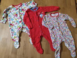 Слипы Tu  с рукавичками для новорожденных