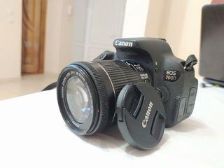 Canon 700D  + Obiectiv 18-55 mp