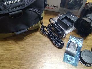 Срочно Canon 1100D KIT+18-55 IS II+Сумка, Новый, 4200lei, Торг.