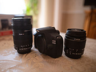 Canon EOS 1200D 18-55 IS, Canon EF-S 18-135 мм