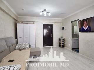 Telecentru! 1 cameră cu living, euroreparație, autonomă! 35 000 euro!