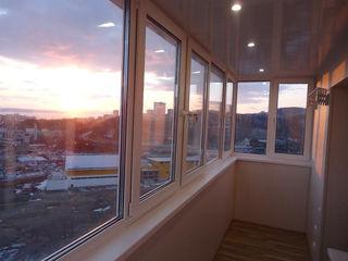Закрытый балкон, переделать балкон серии Хрущёвка, серии 143, серии 135, МС кладка парапета газоблок
