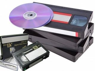 Перезапись с любых кассет на флешку или диски . Бельцы