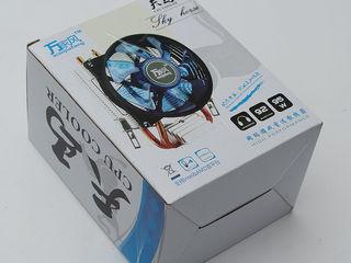 LED CPU cooler Fan Heatsink for Socket LGA1151/1550/1156/1555/LGA775 AMD AM3/AM2/FM2/754/939
