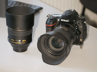 Nikon D750 Body + Nikon 85mm f1.4g + Nikon 24-120mm f.4