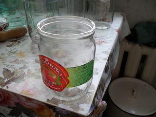 стеклянные банки 05 литра б у  75 шт