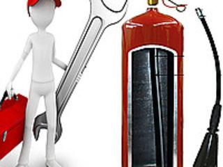 Перезарядка огнетушителей все типы заправка reincarcare verificare stingatoare toate tipurile