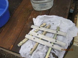 Ножи к УБДН 6, с креплениями