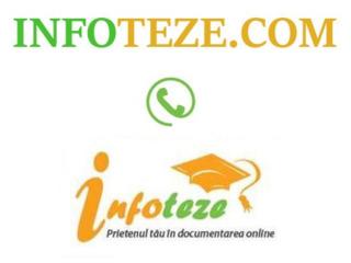 Infoteze.com - teze la drept, teze de licenta la drept, teze de master la drept!