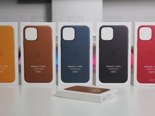 Leather case/Silicone case originals Iphone 12/12pro