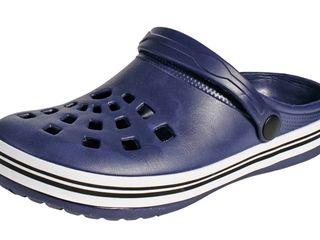 Кроксы NIGU - темно-синие