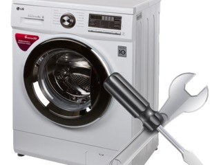 Профессиональный ремонт стиральных машин. Бесплатный выезд + гарантия