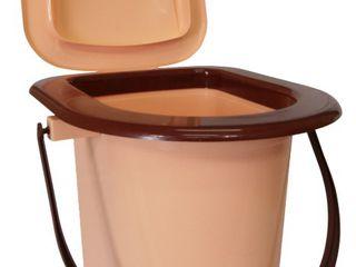 Ведро-туалет для инвалидов и пожилых людей