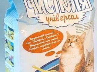 Чистюля универсал наполнитель для кошачьего туалета - 5 кг