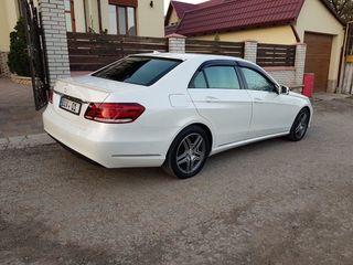 E Class W212 facelift (restyling) albe/negre (белые/черные)