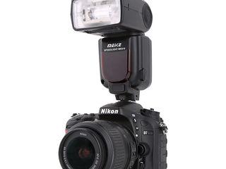 Вспышки на Nikon и Canon.