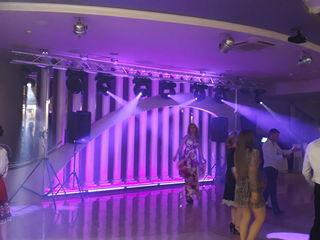Профессиональый свет на свадьбу, крестины, любые мероприя! Lumini pentru nunta, cumatrii, sarbatori