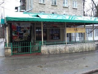 Продаётся кафе-бар(парковая зона)с жильём  на втором уровне.
