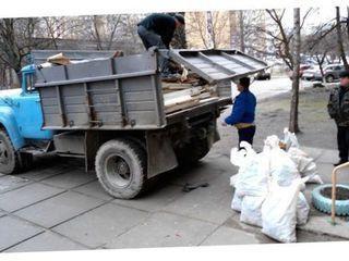 Evacuarea deșeurilor de constructie