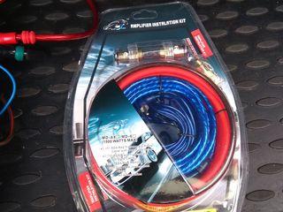 Комплект проводов для сабвуфера новый 1500 ватт-230 лей
