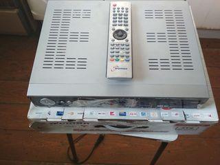 ресивер шаринг НТВ+ аккаунт вводится с пульта TRUMAN TM 900 HD корейский