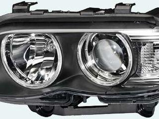 фара Bi-Xenon с белым поворотом правая  BMW X5 E53 2004-2007  новая оригинал  4400