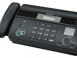 Факс Panasonic KX-FT982RU-B, на термобумаге, новый