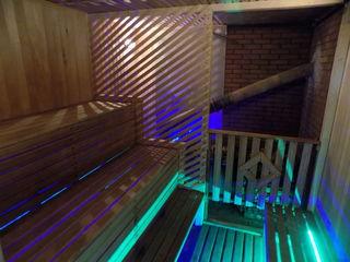 """Обновленная Сауна """"Green House """"на дровах с тёплым бассейном в 35 градусов!!!"""