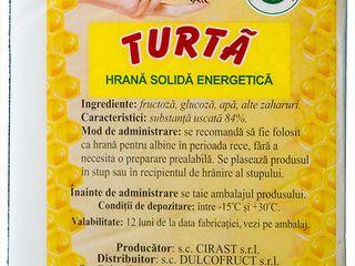 Hrană p/u albini 100% invertita, candi, turta, miere, канди, мед,турта, candy, для пчел