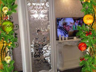 Reduceri de iarnă - vitralii, oglinzi, decorarea sticlei, şorţ de bucătărie, sticlă pentru uşi