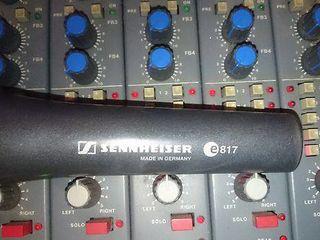 Microfon Sennheiser e817 + cablu + Stativ