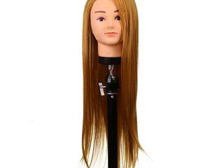 Cap pentru practica auriu,blond,saten,roscat 60 cm ce se poate lucra cu placa,manechin,pupeta