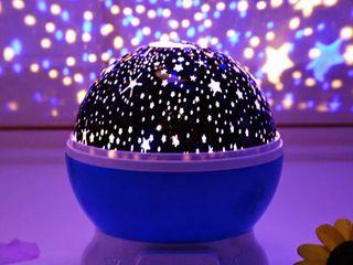 Ночник проектор звездное небо Star Master dream. Вращающийся.