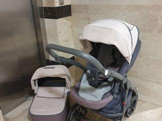 Carucior Riko 2in1 4500 lei, stare ideala+cadou scaun auto bebelus