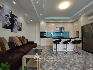 Sky House! Centru, str. Lev Tolstoi, 2 camere + living! Euroreparație!